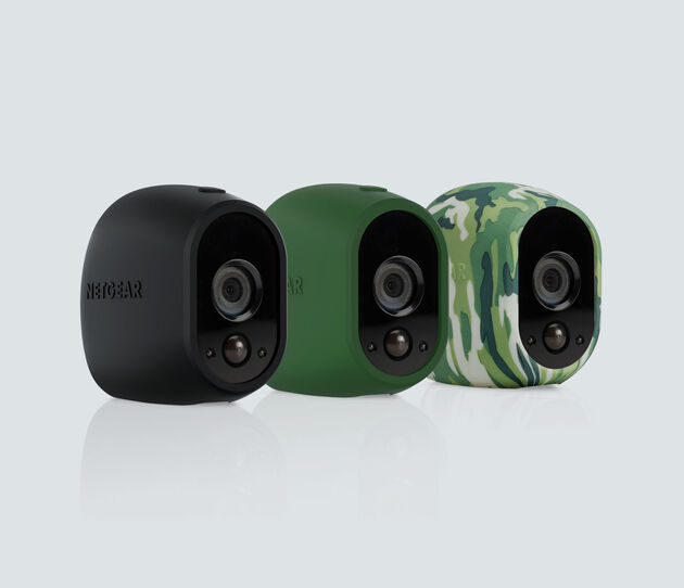 Set of 3 Skins in Black, Green, Camouflage