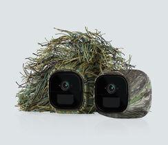 Set of 2 Camouflage Ghillie Skins, facing left
