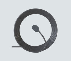 25 ft. Outdoor Magnetic Charging Cable - Black
