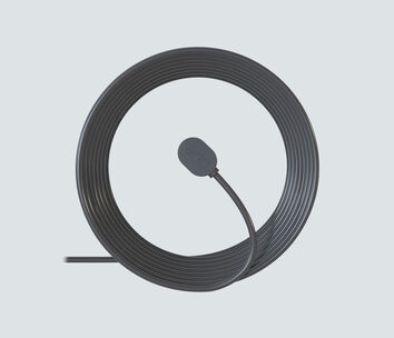 Arlo Magnetic Charging Cable Black