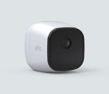 Arlo Go Camera, in white, facing right