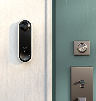 Arlo Wired Doorbell Lifestyle