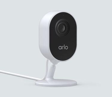 Arlo Essential Indoor Security Camera - 1 cam, white