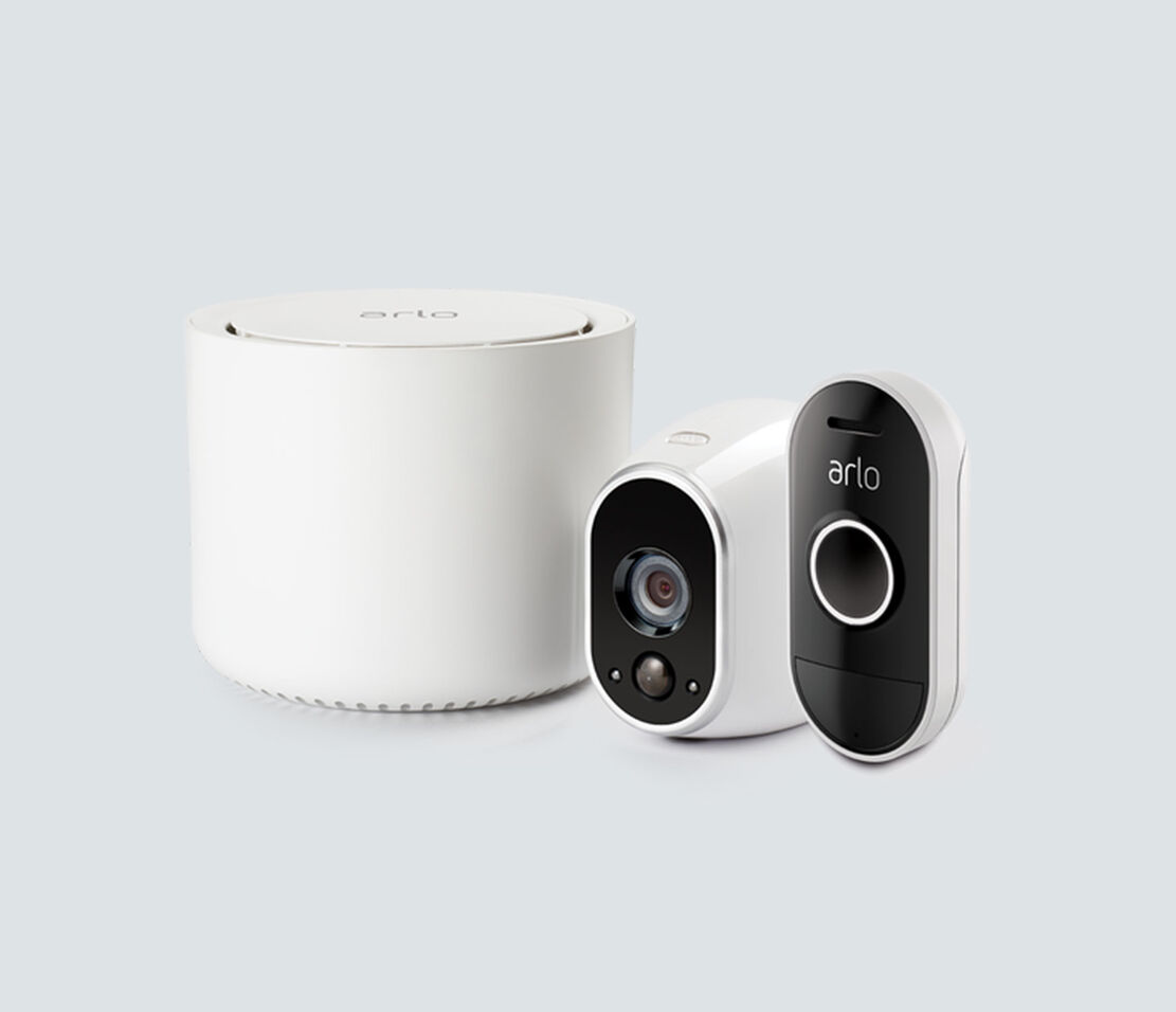 Arlo - 1 Camera Kit with Audio Doorbell