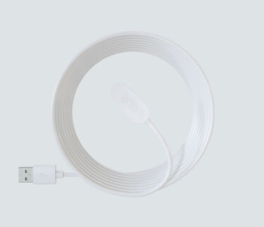 Indoor Magnetic Charging Cable - White