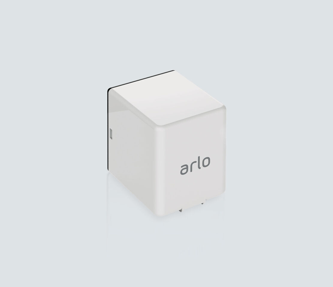 Rechargeable Battery for Arlo Go, facing right
