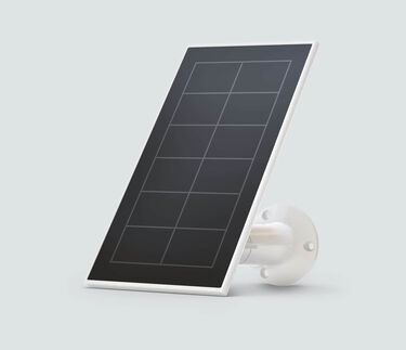 Solar Panel Charger in white, for Essential cameras only