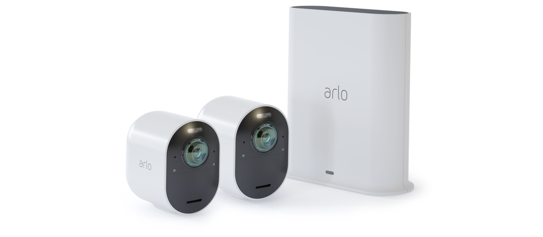 Arlo Ultra 2 Security System 2-Camera Kit- (VMC5240-200AUS)