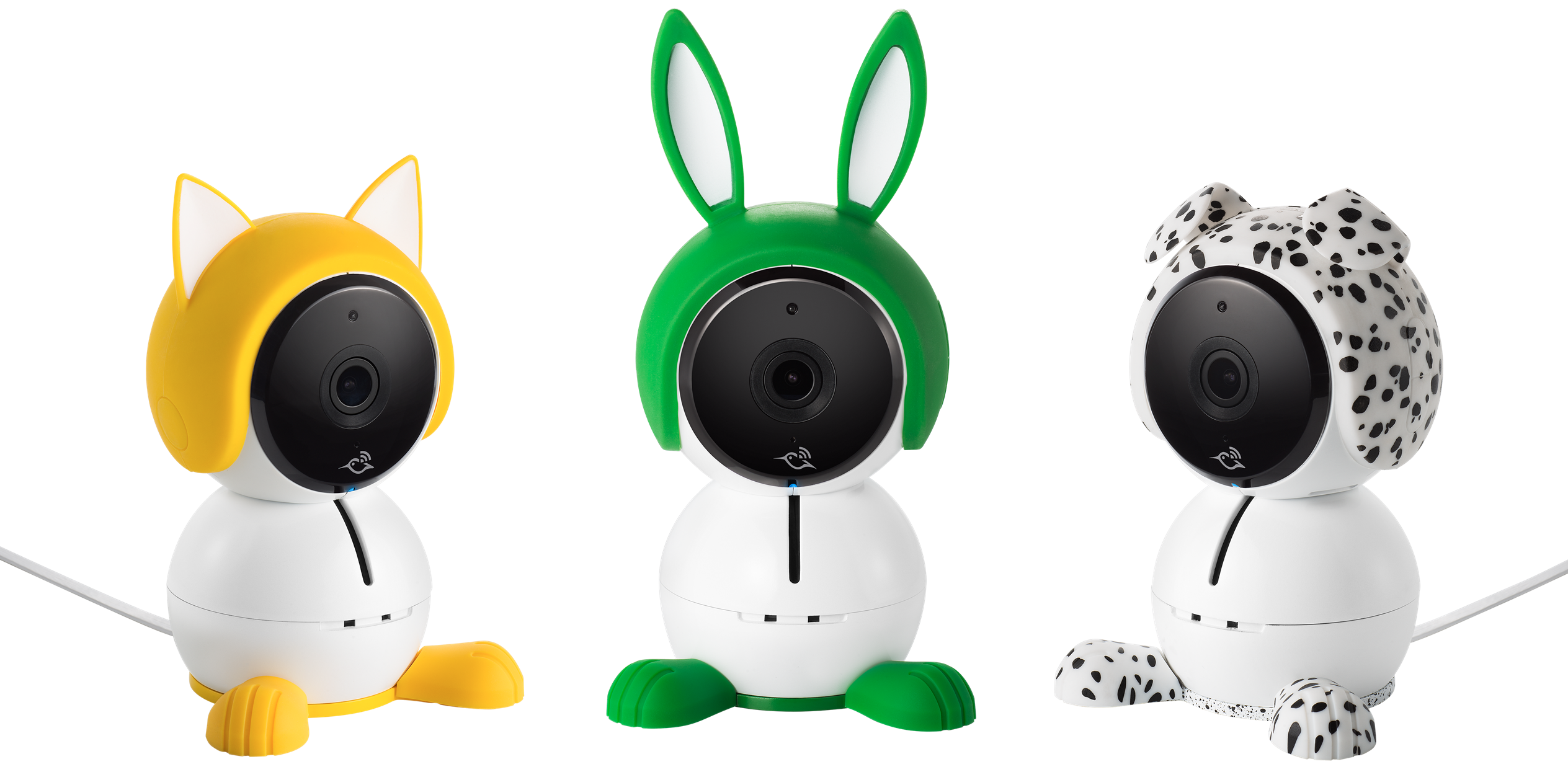 Arlo Baby Puppy Character for Arlo Baby Smart HD Baby Monitoring Camera Black//White ABA1100