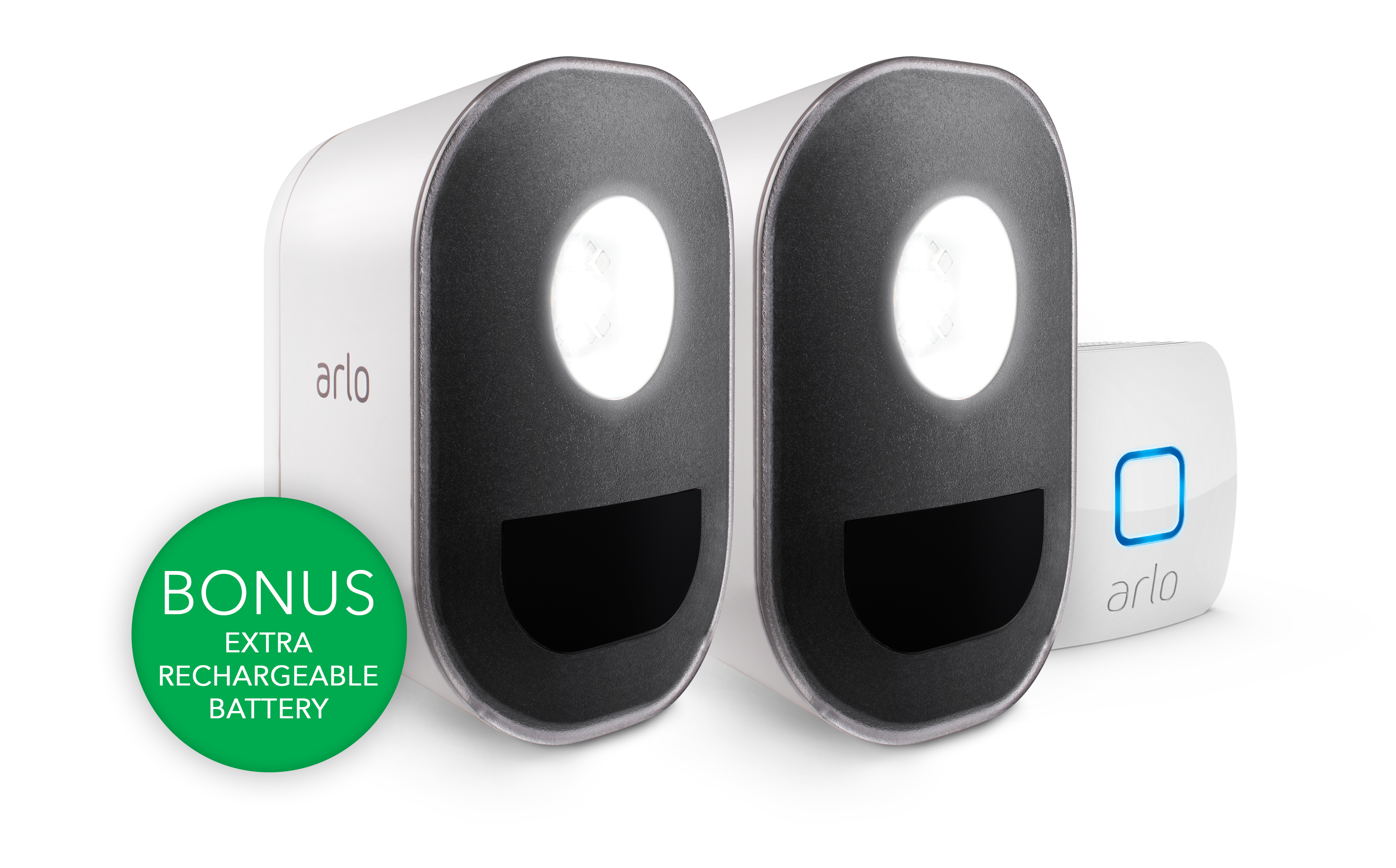 Rechargeable Wireless Security Light Arlo By Wiring Outside Lights Uk System With 2 Wire Free Smart Als1102b