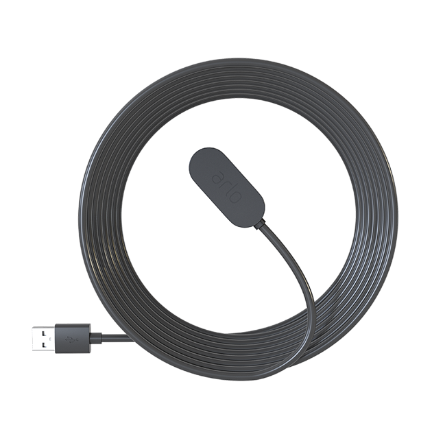 8 ft. Indoor Magnetic Charging Cable - Black (VMA5001C)