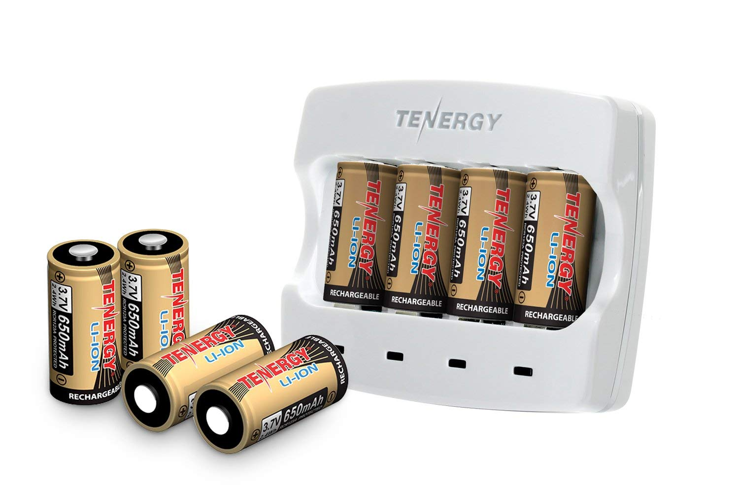 Tenergy Battery Charger Combo 8pc