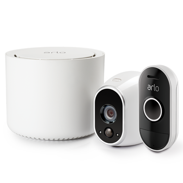 Arlo - 1 Camera Kit with Audio Doorbell (VMK3150)