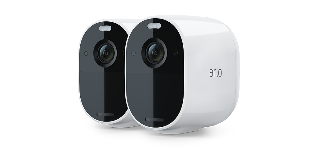 Arlo Essential Wire-Free Spotlight Camera - 2 Pack