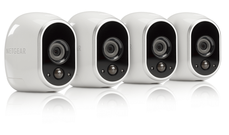 Arlo HD Security Camera 4-Pack (VMC3430)