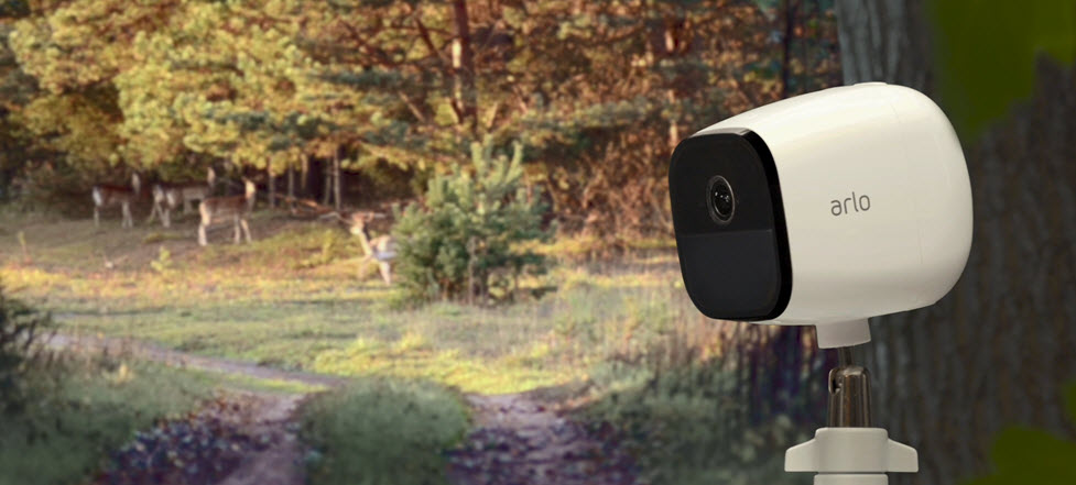 Mobile Wire-Free Weatherproof HD Security Camera with Audio