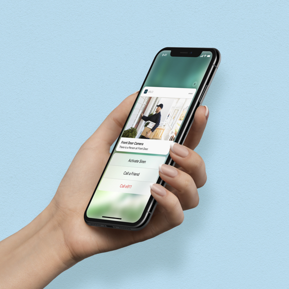 Arlo App on mobile