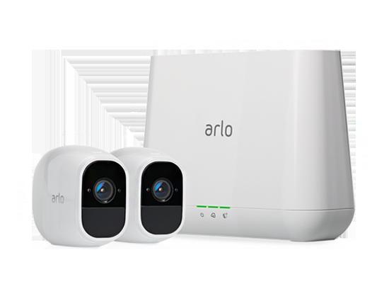 Arlo Pro 2スマートセキュリティシステム カメラ2台セット (VMS4230P)