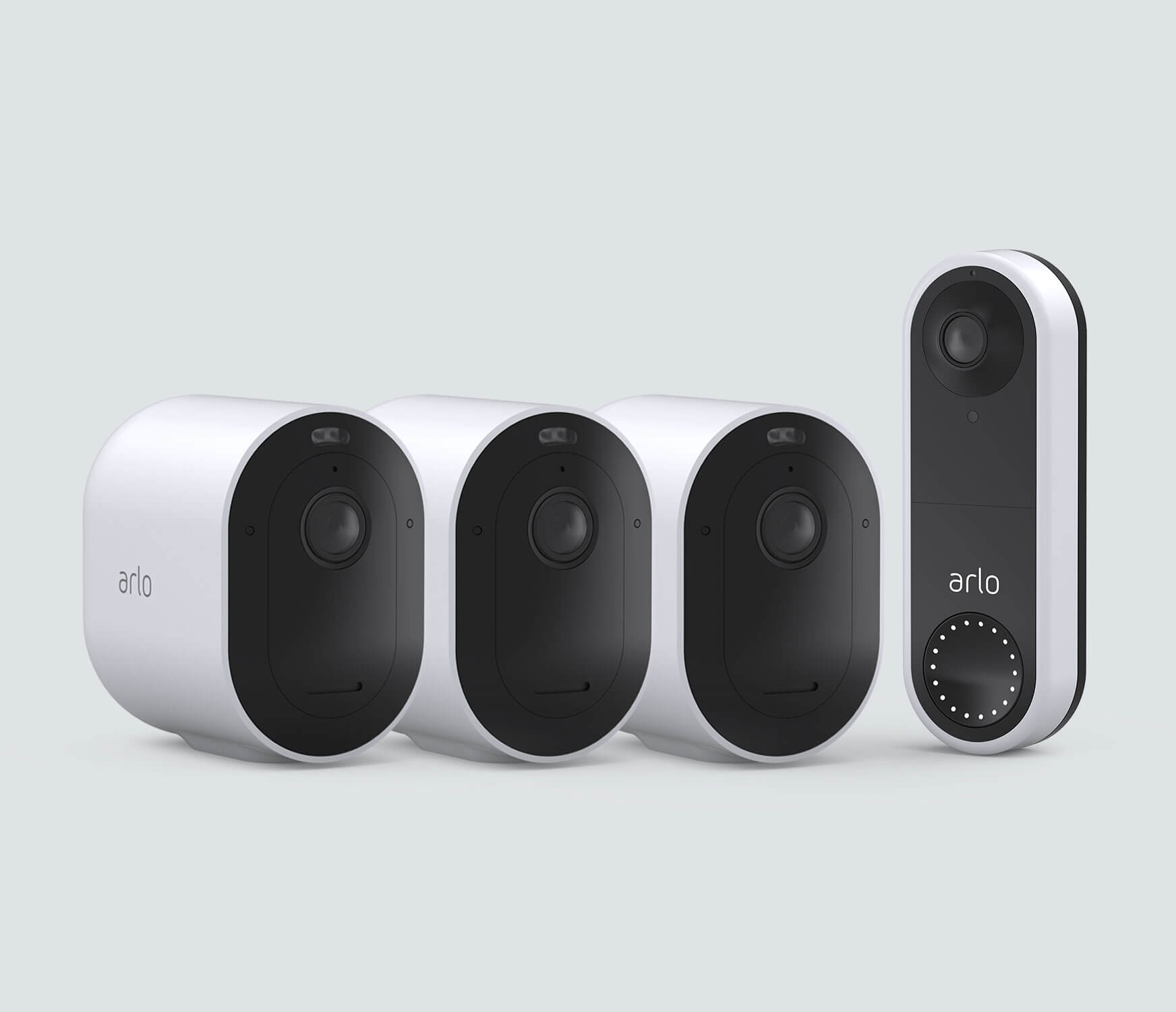 The Wired Doorbell Everyday Bundle - White