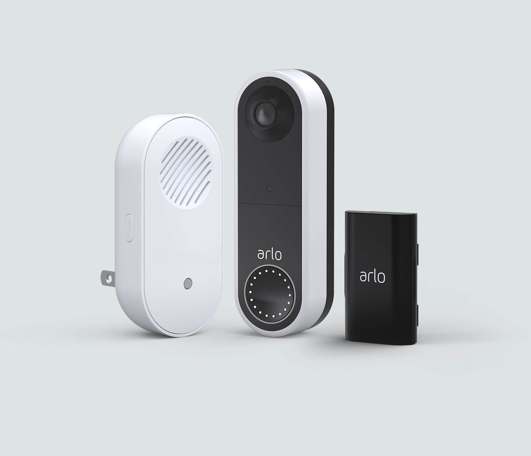 The Complete Wireless Doorbell Bundle - White