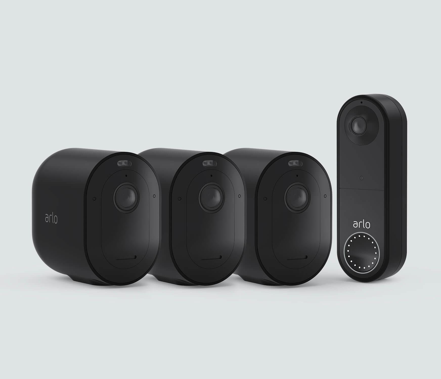 The Wireless Doorbell Everyday Bundle - Black