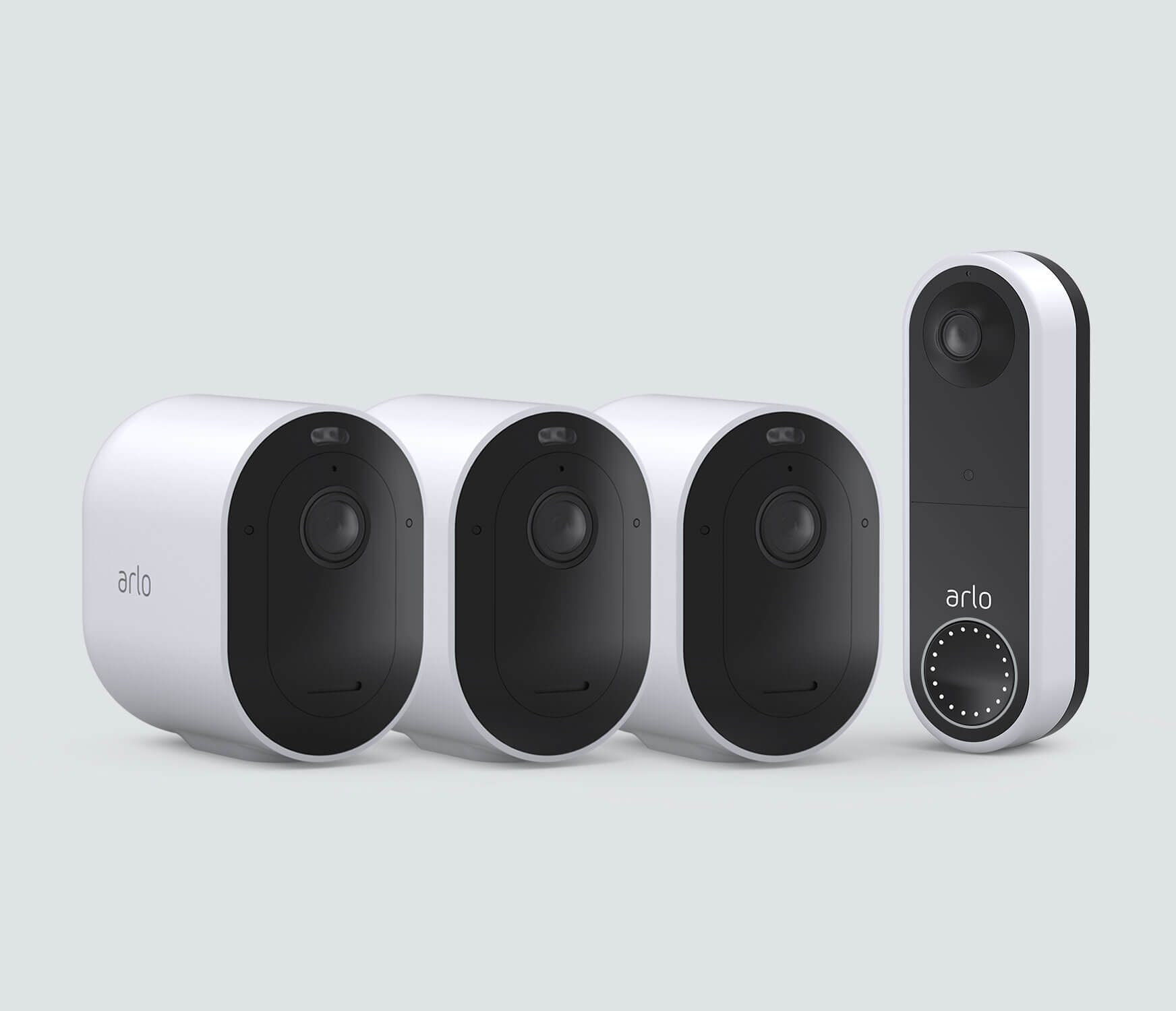 The Wireless Doorbell Everyday Bundle - White