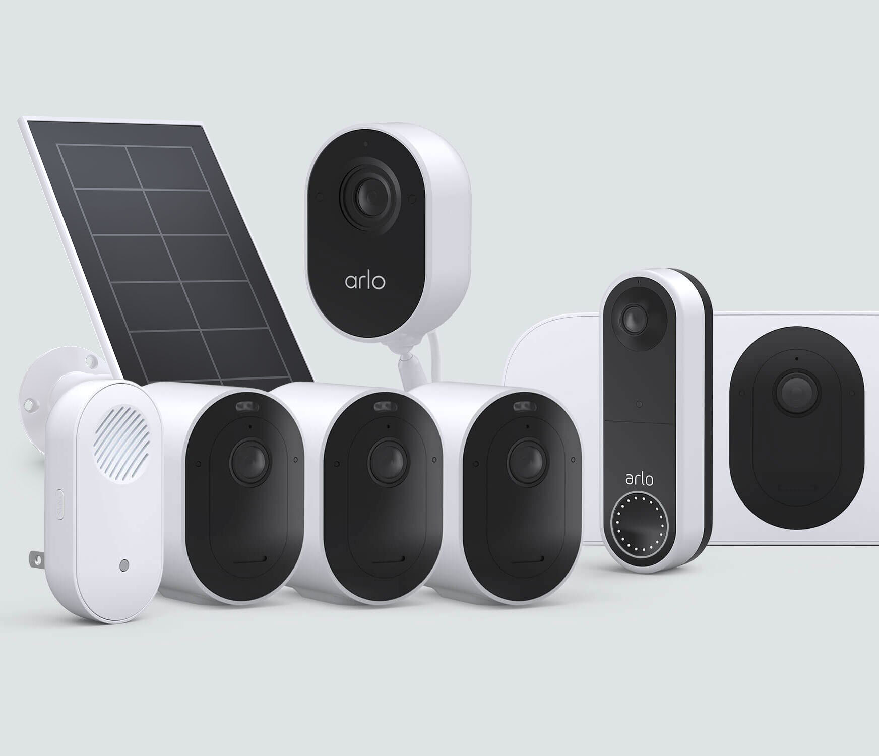 The Complete Protection Bundle with Wireless Doorbell - White