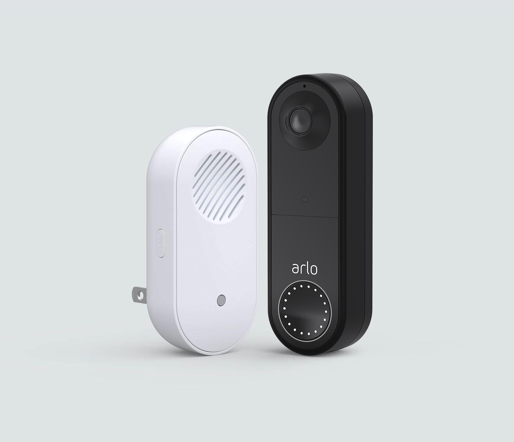 The Wireless Doorbell Basic Bundle - Black